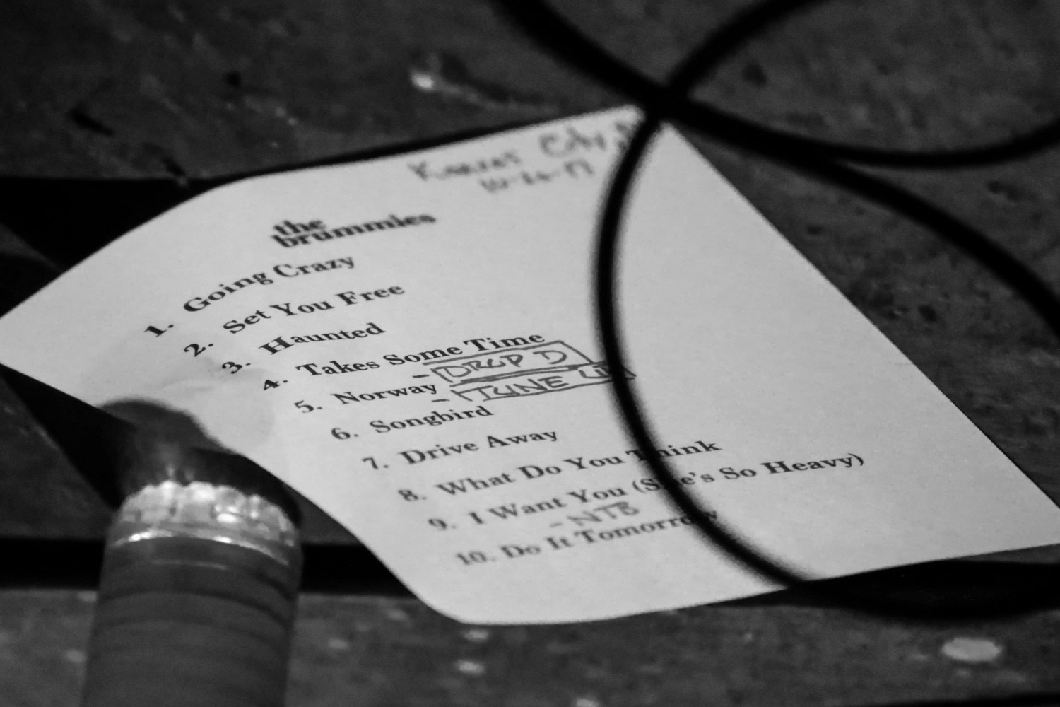 The Brummies setlist for Kansas City – KC Concerts