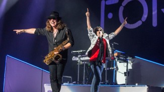 Thom Gimbel and Kelly Hansen of Foreigner