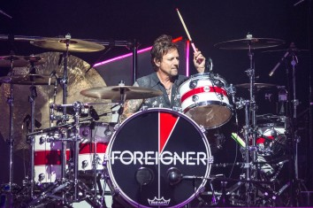 Chris Frazier, drummer of Foreigner