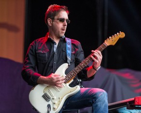 Alex Howland, guitarist of Jason Bonham's Led Zeppelin Experience