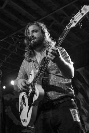 Taylor Thompson, guitarist for Devon Gilfillian