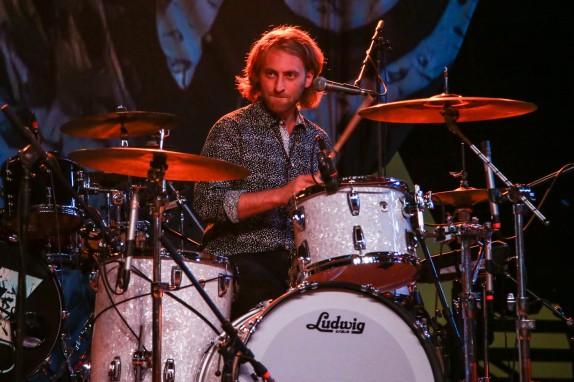 Jonathan Smalt, drummer for Devon Gilfillian