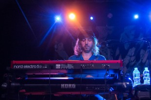 Carson Cody, keyboardist for Devon Gilfillian