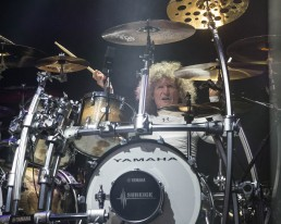 Tommy Aldridge, drummer of Whitesnake