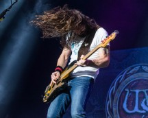 Michael Devin, bass guitarist of Whitesnake