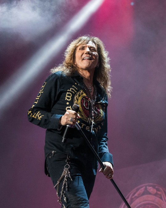 David Coverdale, lead vocalist of Whitesnake