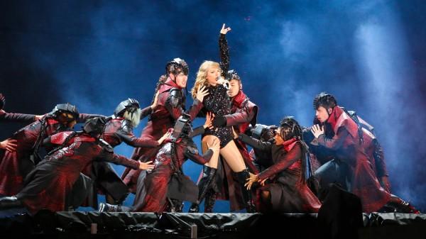 Taylor Swift's Reputation Tour concert at Arrowhead Stadium on September 8, 2018