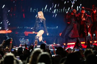 Taylor Swift's Reputation Tour concert at Arrowhead Stadium on September 8, 2018