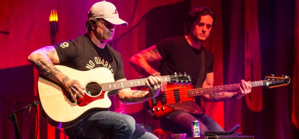 Rhythm guitarist Chris Henderson and bass guitarist Justin Biltonen of 3 Doors Down