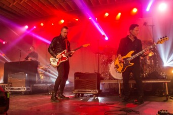Blue October performing at The Truman in Kansas City, Missouri, on March 30, 2019.
