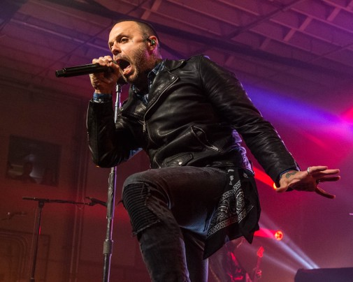 Justin Furstenfeld, lead singer of Blue October