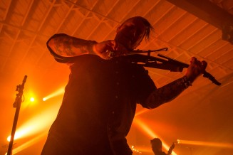 Ryan Delahoussaye, violinist of Blue October
