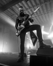 Will Knaak, lead guitarist of Blue October