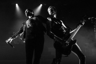 Brent Smith and Eric Bass of Shinedown