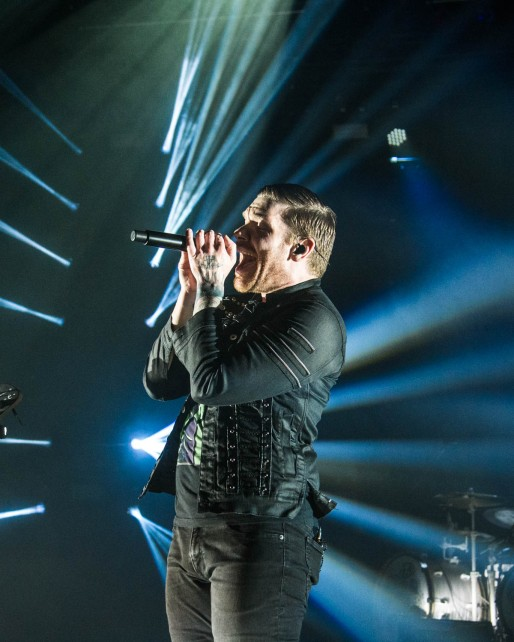 Brent Smith, lead singer of Shinedown