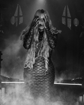 Maria Brink, lead singer of In This Moment