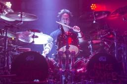 Glen Sobel, drummer for Alice Cooper