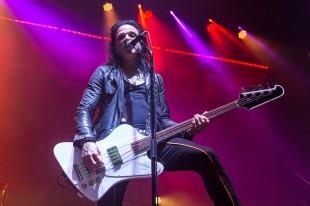 Chuck Garric, bass guitarist for Alice Cooper