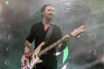 Josh Smith, bass guitarist of Halestorm