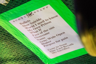 Setlist for Scott Stapp at Knuckleheads Saloon