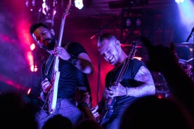 Yiannis Papadopoulos and Ben Flanders, guitarists for Scott Stapp