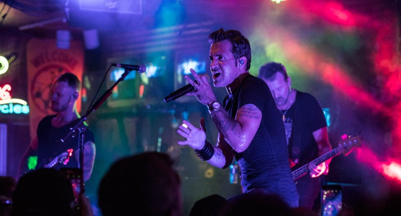 Scott Stapp, the voice of Creed