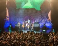 Tenacious D performing at Starlight Theatre in Kansas City, Missouri on July 27, 2019