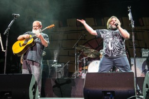 Kyle Gass and Jack Black of Tenacious D