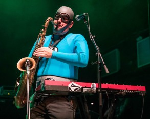 Jimmy the Robot (James Briggs), keyboardist and instrumentalist of The Aquabats