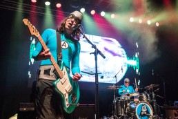 "Eagle ""Bones"" Falconhawk (Ian Fowles), guitarist of The Aquabats"
