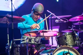Ricky Fitness (Richard Falomir), drummer of The Aquabats
