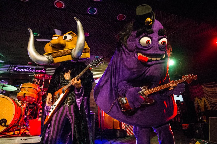 Slayer MacCheeze and Grimalice of Mac Sabbath