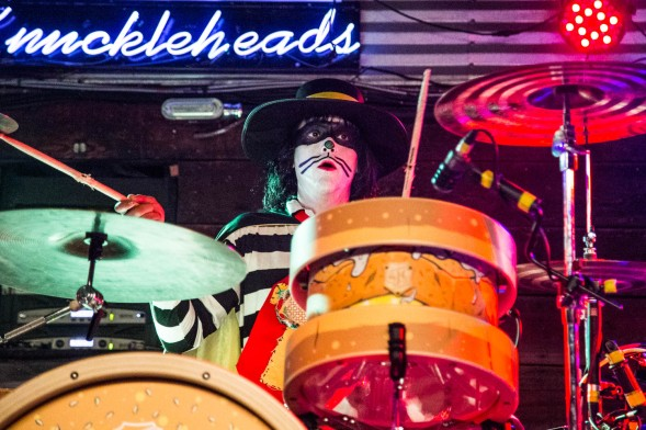 The Catburglar, drummer of Mac Sabbath