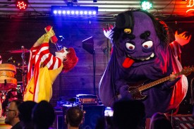 Ronald Osbourne and Grimalice of Mac Sabbath