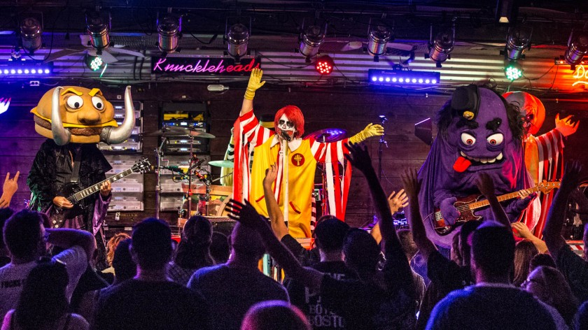 Mac Sabbath performing at Knuckleheads Saloon in Kansas City, Missouri on July 31, 2019