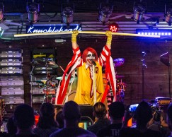 Ronald Osbourne, lead singer of Mac Sabbath