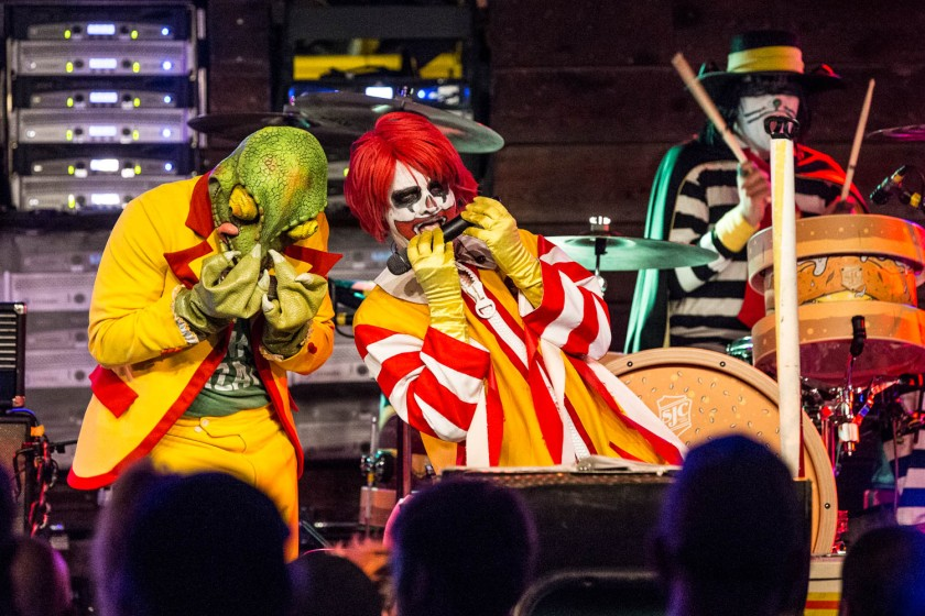 The Lizard and Ronald Osbourne of Mac Sabbath