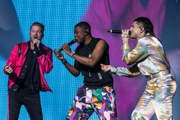 Scott Hoying, Matt Sallee, and Mitch Grassi of Pentatonix