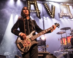 Henrik Sandelin, bass guitarist of Avatar