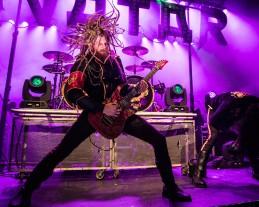 """Jonas """"Kungen"""" Jarlsby, guitarist of Avatar"""