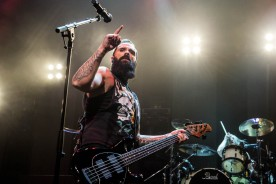 John Cooper, lead vocalist and bass guitarist of Skillet
