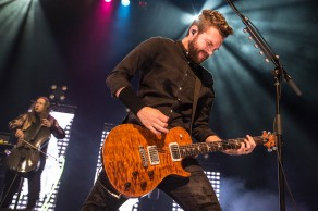 Seth Morrision, lead guitarist of Skillet