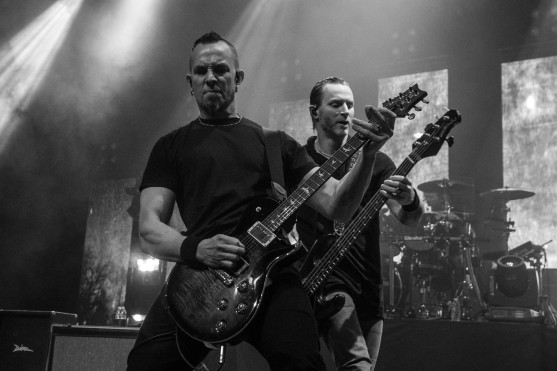 Mark Tremonti and Brian Marshall of Alter Bridge