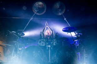 Alex Landenburg, drummer of Kamelot