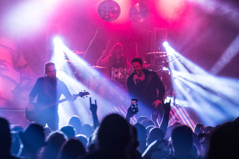 Kamelot performing at The Truman in Kansas City, Missouri on September 24, 2019.