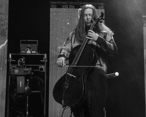 Tate Olsen, cellist of Skillet