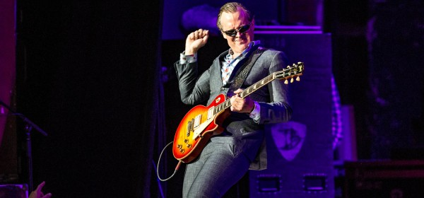 Guitarist and vocalist Joe Bonamassa