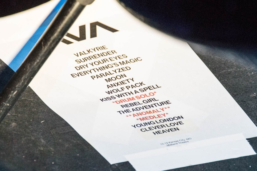 Angels and Airwaves setlist at the Arvest Bank Theatre at The Midland on December 19, 2019.