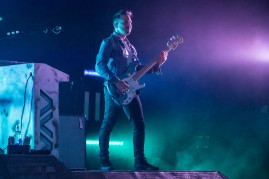 Matthew Rubano, touring bass guitarist of Angels and Airwaves