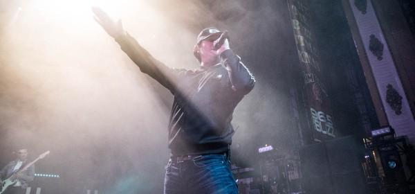 Tom DeLonge, lead vocalist of Angels and Airwaves